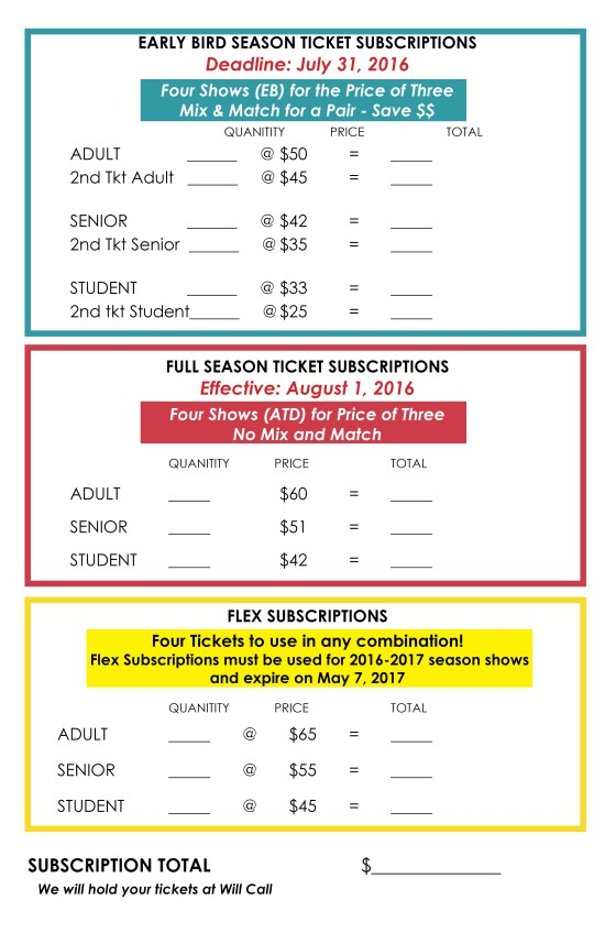 ticket options