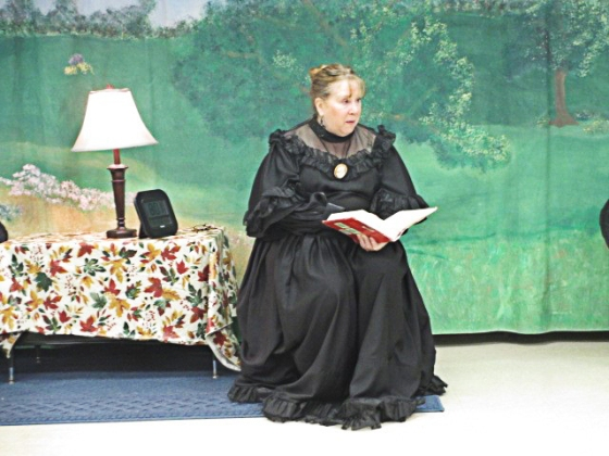 Christine Newman-Aumiller as Mrs. Starr at Leo Elementary